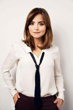 jenna coleman | Jenna Coleman - 'Doctor Who' Season 8 Photoshoot + Christmas Special ...