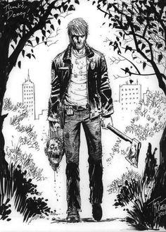 Rick:1 Zombie:0