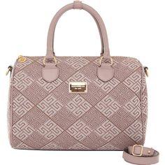 Bolsa Smartbag Baú Grande Jacquard Fendi/Argila - 88014.16 - bolsas para voce