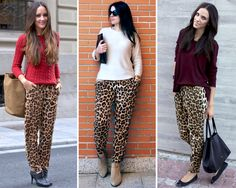 Left – Outfit Inspiration & Ideas for All Occasions Animal Print Pants, Animal Print Outfits, Animal Print Fashion, Outfit Pantalon Vino, Dita Von Teese Style, Cool Outfits, Casual Outfits, Outfit Combinations, Office Outfits