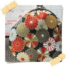 Japan kimono coin purse @etsy
