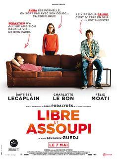 Benjamin Guedj avec Baptiste Lecaplain / Charlotte Le Bon / Félix Moati - Libre et assoupi