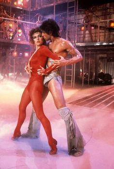 "John Travolta and Finola Hughes in ""Staying Alive"" directed by Sylvester Stallone. Sylvester Stallone, Best Dance Movies, Great Movies, Shall We Dance, Just Dance, Perfect John Travolta, John Travolta Kelly Preston, Alive Film, I Movie"
