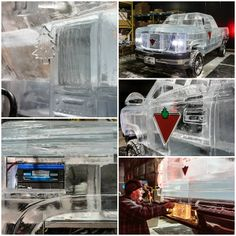 Canadians made car from ice Alcoholic Drinks, Ice, Technology, News, Glass, Tecnologia, Alcoholic Beverages, Tech, Drinkware