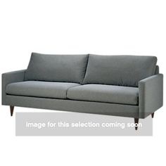 Picture of Liam Sofa. I NEED this sofa! And it comes is like 50 different shades of teal or blue... it's perfect for me (: