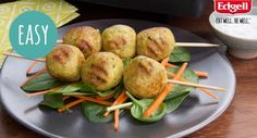 Chicken and Coconut Curry Meatballs