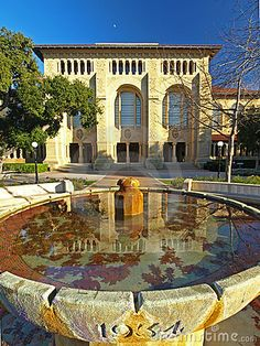This is the Library of Stanford University.