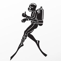 Scuba Snorkeling Decal Sticker
