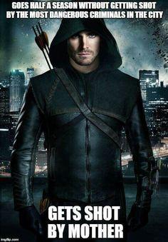 Lovely meme start to 2015 #MemeMonday #Arrow - Stephen