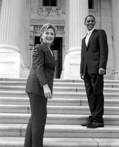 SOS Hillary Clinton and President Barack Obama