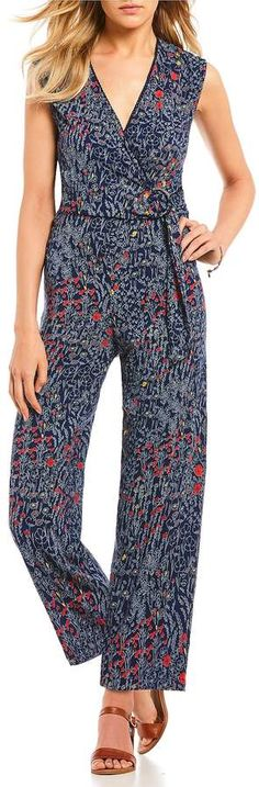 84606be65ce Angie Ditsy Floral Print Jumpsuit