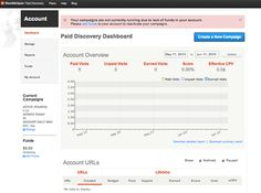 How to see if your StumbleUpon Paid Discovery Campaign Worked