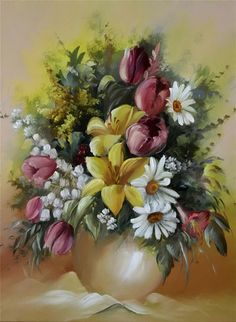 20 Beautiful Bouquet and Flower Oil Paintings by Szechenyi Szidonia. Read full article: http://webneel.com/webneel/blog/20-beautiful-bouquets-canvas-oil-paintings-szechenyi-szidonia | more http://webneel.com/paintings | Follow us www.pinterest.com/webneel