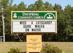 19 Hilarious Church Signs You Won't Believe Are Real (They Are!) - brainjet.com