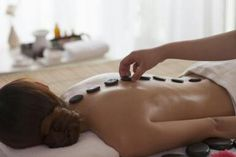 Treat yourself with a hotstone massage
