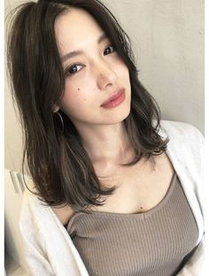 - New Site (notitle) Haircuts Straight Hair, Cute Hairstyles For Medium Hair, Medium Hair Cuts, Medium Hair Styles, Long Hair Styles, Korean Hairstyles Women, Asian Hairstyles, Korean Haircut Medium, Clavicut