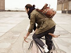 #Men have #Beards & #Ponytails. Via A well traveled woman.