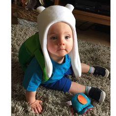"And this perfect baby Finn. | 25 People That Nailed Their ""Adventure Time"" Costumes"