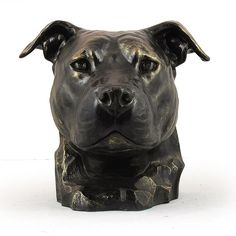 American Staffordshire Terrier, memorial, urn for dog's ashes, ArtDog ** You can find out more details at the link of the image. (This is an affiliate link and I receive a commission for the sales)