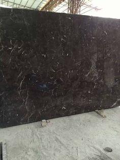 new emperador marble 2cm big slab, epoxy resin polished