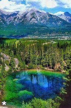 ABRAHAM LAKE, ALBERTA, CANADA - via Kostas Kastrinakis's photo on Google+