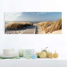 Glasbild #Strand #Meer #Ostsee #Bad #Ideen #Gestaltung | Bad Ideen ...