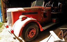 Herclean Find: 1940 Pirsch Fire Truck - http://barnfinds.com/herclean-find-1940-pirsch-fire-truck/