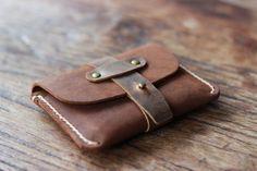 Leather Credit Card Holder  JooJoobs Original Treasure by JooJoobs, $39.00