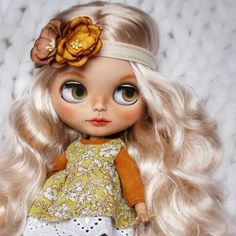 Custom Doll for Adoption by AnnabellBlythedoll CHECK HERE http://etsy.me/2InPe27 . . . #blythe #dollycustom #blythecustom #blythecustomizer #ooakblythe #customblythe #kawaii #doll #artdoll #dollstagram #blythestagram #blythelover #ブライス
