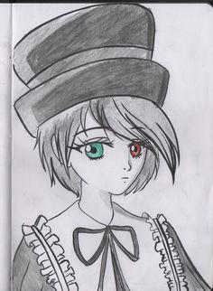rozen maiden souseiseki anime manga draw art work pencil