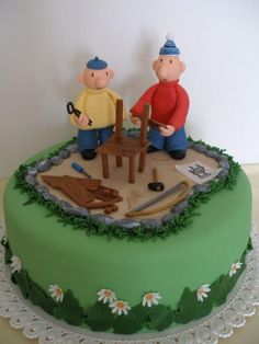 Pat And Mat Make A Chair.... on Cake Central