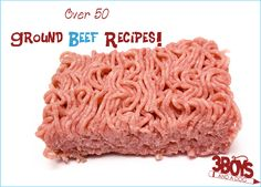 Over 50 Ground Beef Recipes