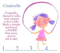 Cinderella Jump Rope Song! Every day during recess, we jumped rope to chants like this one! :)