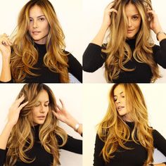 78516142276a6 Cinnamon Swirl Hair Is the Stunning New Hair Color You Need to Try via Brit  +