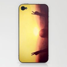 Peace Out iPhone skin by @Skye Zambrana and available at society 6!