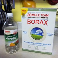 Ceramic Tile Grout Cleaner! Borax & White Vinegar! I just got do e doing my entire bathroom... My grout looks as good as the day it was laid down! Not even the stuff from Lowe's worked this good!!! - Click image to find more DIY & Crafts Pinterest pins