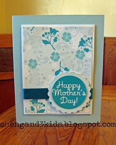 Mother's Day Card #handmadecard #mothersday #card