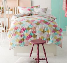 Tilda Quilt Cover Set Range Pink | Manchester Warehouse