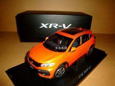 gift + 1/18 CHINA 2015 new Honda XR-V XRV die cast model orange color