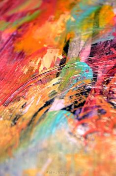 ⭐ rainbow colors . abstract