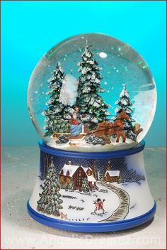 "Roman Inc.  Musical Sleigh Water Globe  Materials: Resin, Glass, Water  Size: 6""H    Plays ""It Came Upon A Midnight Clear""    Your Price: $35.00"