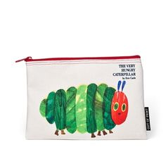 The Very Hungry Caterpillar canvas pouch
