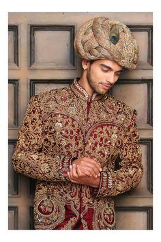 Indian Men Fashion, African Fashion, Men's Fashion, Kurta Men, Indian Groom Wear, Royal Indian, Indian Wedding Photography Poses, Wedding Dress Men, Wedding Sherwani