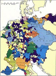 Das Deutschland in Mitteleuropa, zur Zeit Karls IV (1347-1378).  Rechts sieht man die Länder des deutschen  Ritterordens  --- heute West / Ost Preußen -- an der Weichsel Fluß.  Oder war damals deutsch -- ist heute Polnish Odra