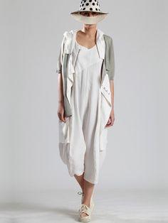 Cotton-Cupro Jumpsuit by LURDES BERGADA