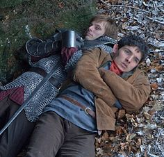 You all comfy and snuggly there Merlin and Arthur?