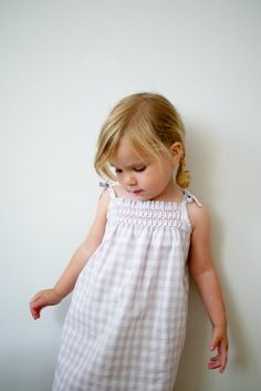 Smocked Dress + Shirt