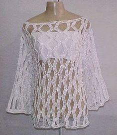 TRICO y CROCHET-madona-mía: Blusas a crochet( ganchillo) con patrones