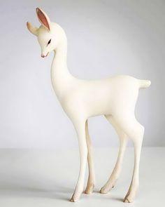 Белые скульптуры (22 фото)