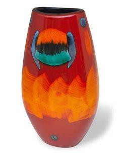 Poole Pottery Volcano Manhattan Vase 26cm